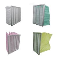 Buy cheap Medium Efficiency Synthetic Electronic Air Filter Bags , 24x24x20 Inch from wholesalers