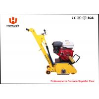 Buy cheap Yellow Concrete Scarifier Machine Remove Road Line From Concrete Floor And Asphalt Floor from wholesalers