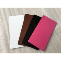 Buy cheap High Strength Purple Aluminium Composite Sheet Mould - Proof For Wallboard / Ceiling product