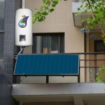 Buy cheap balcony flat solar water heater from wholesalers