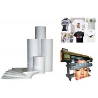 Buy cheap Textile Heat Press Machine Spare Parts 64 Anti Curl Heat Transfer Paper Rolls from wholesalers