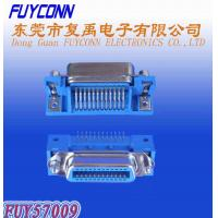 Buy cheap Centronic 25 Pair Receptacle PCB Right Angle Connector with Jack Screws and Board Lock from wholesalers