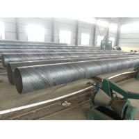 Buy cheap Spiral Welded SSAW Steel Pipe Anti Corrosion / Anti Rust Paint For Water Engineering from wholesalers