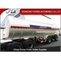 Mechanical spring suspension fuel tank trailer oil semi truck for sale
