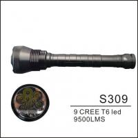 Buy cheap 7500LM High Brightness LED Camp Lamp , T6 9 Cree LED Flashlight Torch from wholesalers