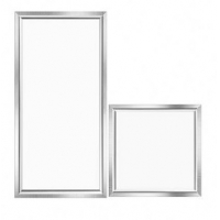 Buy cheap Recessed Square Silver 40W 295*1195*10 Large LED Panel Light from wholesalers