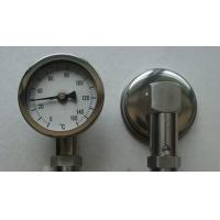 Buy cheap Bottom Connection Bimetal Thermometer 0 - 150 Degree Temperature Measuring Instruments from wholesalers