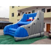 Buy cheap UV Resistant Inflatable Amusement Park With Shoe-Shaped Basketball Shooter from wholesalers