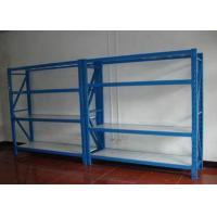 Buy cheap Adjustable 4 Shelf Metal Shelving Unit Goods Storage For Warehose from wholesalers