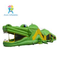 Buy cheap 2017 New design Inflatable obstacle course for party rental/ kids Crocodile obstacle course from wholesalers