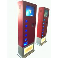 Buy cheap 17inch Cell Phone Charging Kiosk vending machine Led light charging from wholesalers