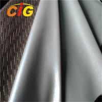 Buy cheap PVC Artificial Leather Fabric For Handbag , PVC Synthetic Leather Scratch Resistant product