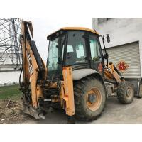 Buy cheap 4 in 1 JCB 3CX ECO bucket Used Backhoe Loader 4 Wheel Drive 81KW from wholesalers