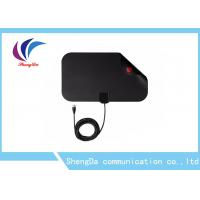 Buy cheap Mini Flat UHF VHF Digital TV Antenna-50 Mile Range With 1080P Freeview TV from wholesalers