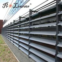 Buy cheap China wholesale Aerofoil fixed sun louver screen,Exterior Aerofoil window product