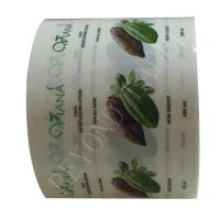 Buy cheap Custom Printing Waterproof Bottle Labels , Round Clear Adhesive Roll Label Shampoo from wholesalers