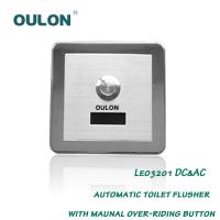 Buy cheap OULON automatic toilet flusher with maunal over-riding button Leo3201DC&AC from wholesalers