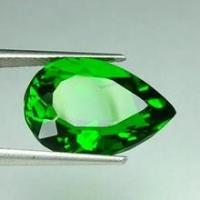 Buy cheap Normal Faceted Natural Chrome Diopside For Gemstone Jewelry 5x3mm from wholesalers