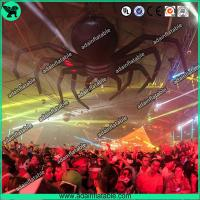 Buy cheap Halloween Event Advertising Black Inflatable Spider Giant Inflatable Animal from wholesalers
