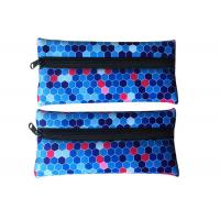 Buy cheap Sublimation Printed Neoprene Pencil Case Custom For Kids Girls Teenagers from wholesalers