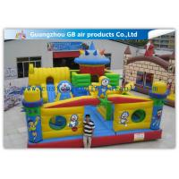 Buy cheap Interesting Happy Family Inflatable Fun City Park Blow Up Bouncy Castle For Big Kids product