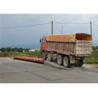 Road Vehicle Weigh Station Scales , Surface Mounted Weighbridge OEM / ODM Accepted