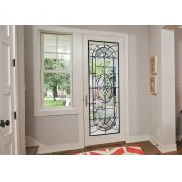 Buy cheap Original Artwork Architectural Decorative Stained Glass Door Panels Nouveau Art Deco from wholesalers