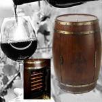 Buy cheap Barrel Refrigerator, Wine Barrel Fridge Hold 18 Bottles from wholesalers