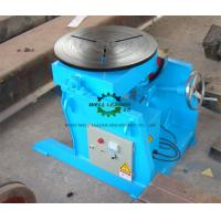 Buy cheap Manual Flange Rotary Table For Welding , Tube Welding Positioner 0.2 Ton Tilting  Capacity from wholesalers