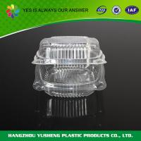 Buy cheap Clear Plastic Clamshell Food Containers Retail Clamshell Packaging Fruit Pack from wholesalers