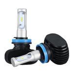 50W 8000LM H11 Led Headlight Bulbs , 6500K Cool White Auto Headlight Bulbs