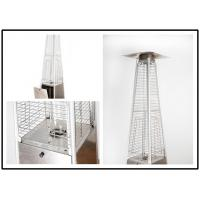 China Tall Quartz Glass Tube Patio Heater , Powder Coated / Stainless Steel Gas Patio Heater on sale