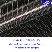 Buy cheap Surfboard Liner 160gsm Carbon Fiber Unidirectional Fabric product