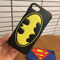Buy cheap PU Cartoon Super Bat Man Pattern Cell Phone Case Cover For iPhone 7 6s Plus from wholesalers