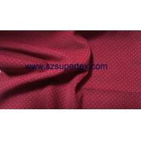 21W Cotton Corduroy Velvet Fabric with Pigment Dot Print Soft Handfeel without Wash