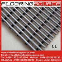 Buy cheap Non slip floor mat surround swimming pool PVC tubes open grids self draining water wet areas anti-fatigue barefoot mat from wholesalers