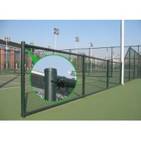 Buy cheap Black Chain Link Fence with Barbed Wire from wholesalers