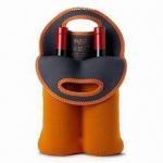 Buy cheap Neoprene Wine Bottle Cooler Bags/Wine Bottle Holder for 2 Wine-bottle Capacity from wholesalers