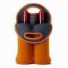 Buy cheap Neoprene Wine Bottle Cooler Bags/Wine Bottle Holder for 2 Wine-bottle Capacity Design from wholesalers