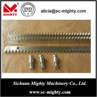 Buy cheap galvanized and zinc plated gear rack for sliding gate from wholesalers
