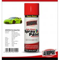 High Gloss Car Paint Aerosol Cans / Scratch Resistant Quick Dry Spray Paint