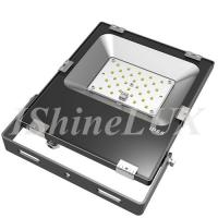 Buy cheap Slimline 30 Wattage Outdoor LED Flood Lights Meanwell Driver Integrated Housing from wholesalers