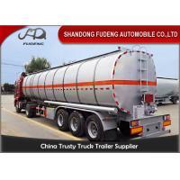 42000 L fuel tanker semi truck trailer for diesel oil delivery