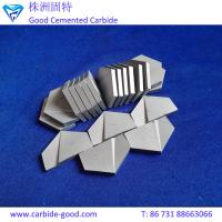 Buy cheap Top quality high hardness hard alloy tungsten carbide brazed tips of various sizes from wholesalers