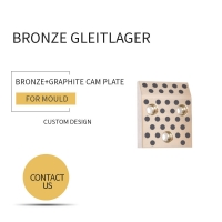 Buy cheap Mould DME Standard Elements Bronze Graphite Cam Plate For Injection & Die Casting Moulds from wholesalers