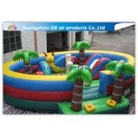 Buy cheap Waterproof Round Blow Up Jumping Castle Bouncy Inflatable For Kids / Adults product