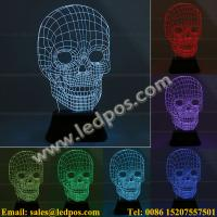 Buy cheap 3D Visual Acrylic LED Light from wholesalers