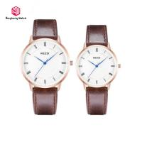 Buy cheap Classic Metal Case Couple Wrist Watches Simple Thin Dial Logo Customized from wholesalers
