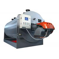Buy cheap Horizontal Type High Pressure Industrial Steam Boiler , Oil Fired Steam Boiler from wholesalers
