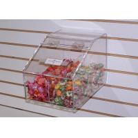 Buy cheap Durable Clear Acrylic Candy Display Cases With Scoop For Candies from wholesalers